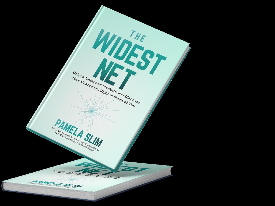 The Widest Net Book by Pamela Slim